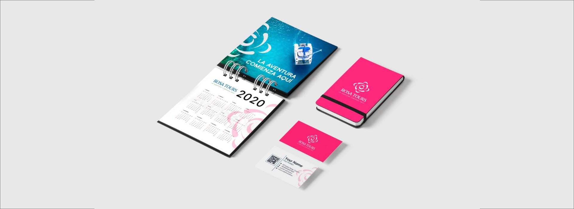 rosa tours branding